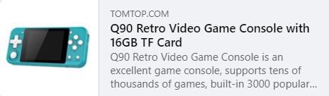 Harga Q90 Retro Video Game: $ 26,99